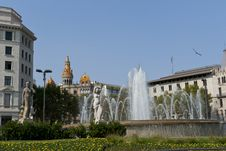 Free Placa De Catalunya Stock Photos - 26795763