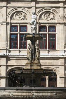 The Fountain At The Opera Stock Photos