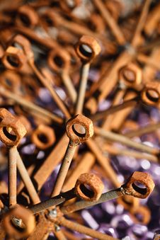 Free Nuts And Bolts Stock Photo - 26796150