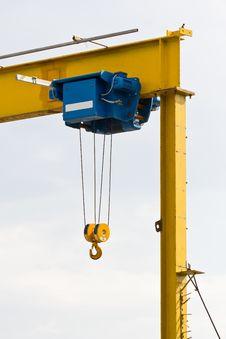 Free Hook Of Construction Crane Royalty Free Stock Image - 26797766