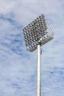 Spot-light Tower Royalty Free Stock Image