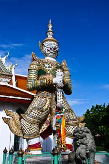 Free Wat Arun Stock Photo - 26798910