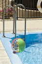 Free Inflatable Ball In Pool Stock Photo - 2684180