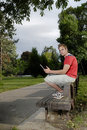 Free Young Man With Notebook Royalty Free Stock Image - 2688246