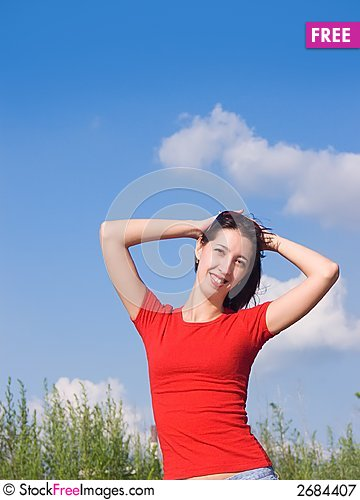 Free Young Attractive Girl 3 Royalty Free Stock Photography - 2684407