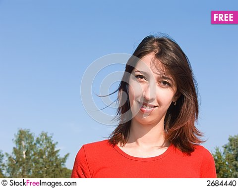 Free Young Attractive Girl Stock Photo - 2684440