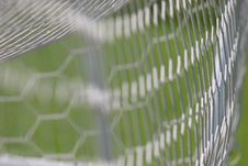 Free Football Goal Net Royalty Free Stock Photography - 2680107