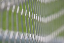 Free Football Goal Net Stock Photography - 2680122