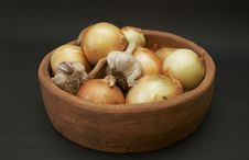 Free Onion And Garlic Stock Images - 2680314
