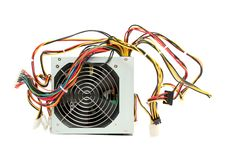 Free Computer Power Supply With Fan Royalty Free Stock Image - 2680366