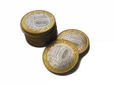 Free Several Coins Royalty Free Stock Photo - 2680425