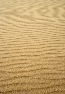Free Rippled Sand Stock Photography - 2680632