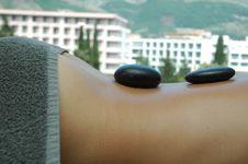 Free Hot Stones Massage Stock Image - 2680881