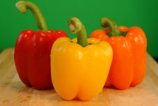 Free Bell Peppers Stock Photography - 2681382
