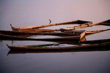 Free Sunken Boats Royalty Free Stock Image - 2681726