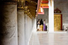 Free Travel In Bhuddist Temple Stock Photography - 2681802