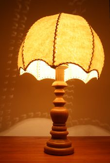 Free Old Table  Lamp Stock Photo - 2682760