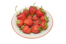 Free Strawberries, Isolated Royalty Free Stock Photos - 2683498