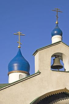 Free Russian Church Tower Royalty Free Stock Photography - 2683567