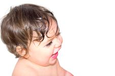 Free Happy Baby Stock Photo - 2684460