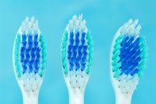 Free Tooth Brush On The Table Royalty Free Stock Photos - 2684808