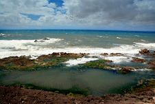 Free Atlantic Ocean In Morocco Stock Photography - 2685252