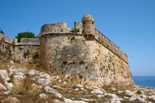 Ancient Stronghold In Greece Royalty Free Stock Photo