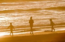 Free Three On The Beach Royalty Free Stock Image - 2687266