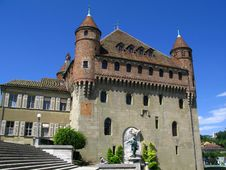 Chateau St-Marie, Lausanne, CH Royalty Free Stock Photos