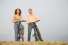 Free Couple On The Bicycles3 Stock Image - 2687641