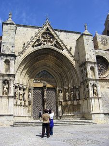 Free Church Morella Stock Image - 2687791