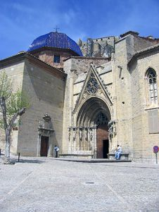 Free Church Morella Royalty Free Stock Image - 2687796