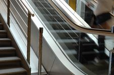 Free Escalator Royalty Free Stock Images - 2688009