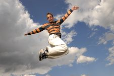 Free Jumpin  Stock Photography - 2688032