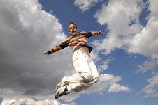 Free Jumpin  Royalty Free Stock Photo - 2688035