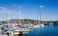 Free Boats In The Harbour Royalty Free Stock Photos - 2689428