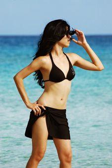 Free Tropical Bikini Girl - Beach Stock Photography - 2689582
