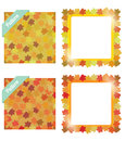Free Autumn Banners And Pattern Royalty Free Stock Photos - 26802608