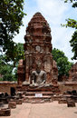 Free Ruin Temple In Thailand Stock Image - 26808791