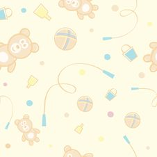 Pattern For Children Royalty Free Stock Photo