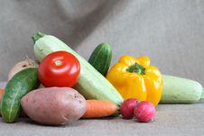 Free Raw Vegetables Royalty Free Stock Photo - 26801345