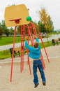 Free Young Boy Playing Basketball Royalty Free Stock Image - 26812776