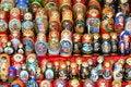 Free Matreshka Dolls Royalty Free Stock Photography - 26813157