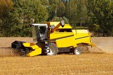 Free Combine Harveste Stock Images - 26811914