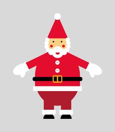Free Vectorized Santa Claus Stock Images - 26812264