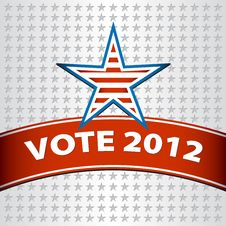 Vote For America Stock Photography