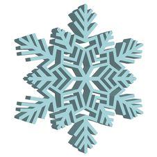 Free Decorative Abstract Snowflake. Stock Photo - 26814970
