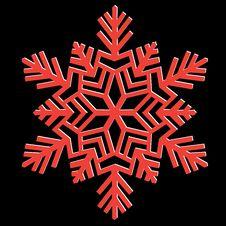 Free Decorative Abstract Snowflake. Royalty Free Stock Photos - 26814978