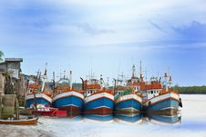 Free Fishing Boat Stock Photos - 26815923