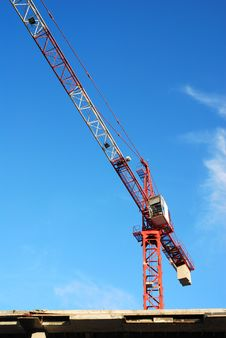 Free Construction Crane Royalty Free Stock Image - 26817796